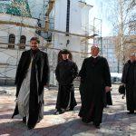 Благословение краеугольного камня для нового храма в Тольятти