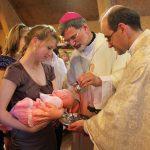 Крещение маленькой Екатерины, 20.05.12
