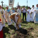 о. Райнхард (ФРГ) помогает строить Церквь в России